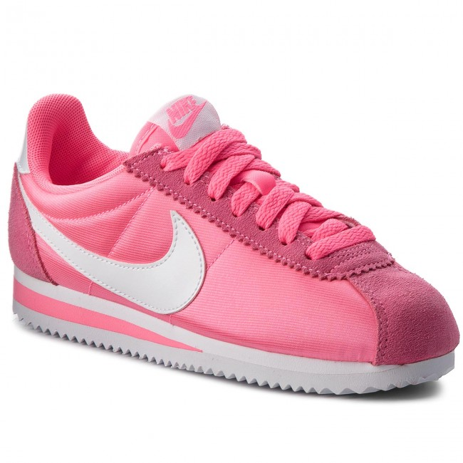 Sneakers Lazer q3 Classic Rose Chaussures Basses Nike 749864 2018 608 Femme winter blanc Cortez Fall Nylon dCWxBero