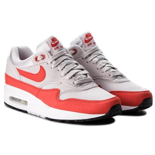Chaussures NIKE Air Max 1 319986 035 Vast GreyHabanero Red