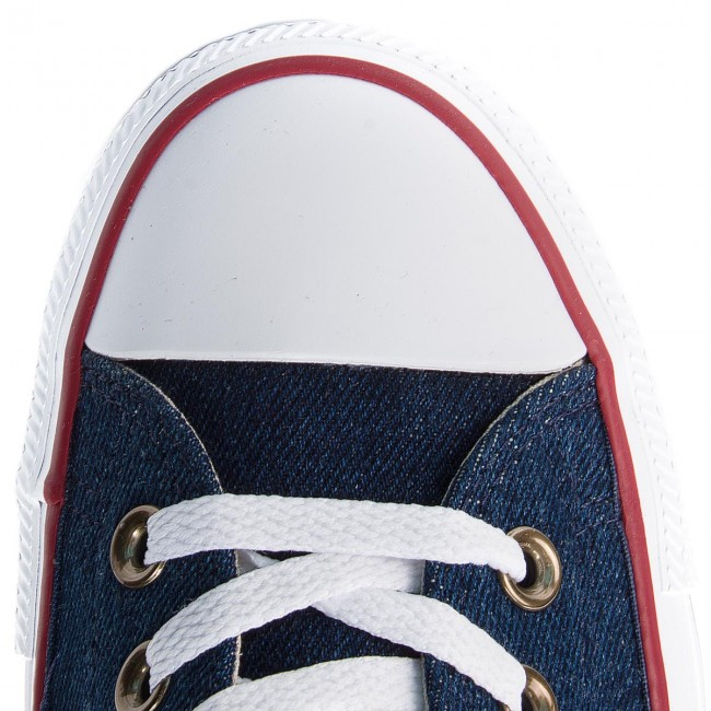 Converse Chaussures Ctas Ivory natural q3 Ox Basses 161489c Blue Fall Dark Sneakers Femme white Baskets winter 2018 lF1KJc