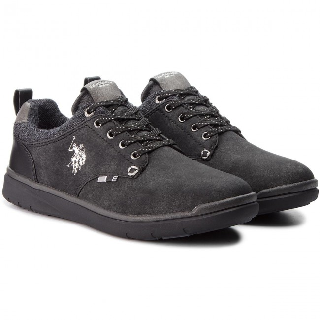 Sneakers U.S. POLO ASSN. - Verter - YGOR4082W8/Y1 Blk - Verter Sneakers - Chaussures basses - Homme 4783eb