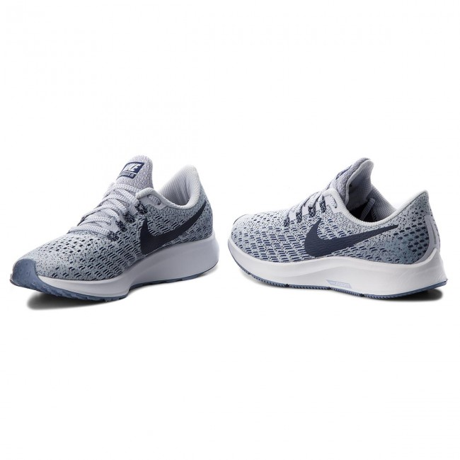 sports shoes 6e6f6 11b6c Chaussures NIKE - Air Zoom Pegasus 35 942855 005 Football Grey Blue  Void White