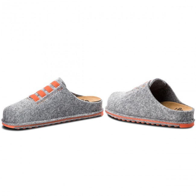 ec7619a39a6815 Chaussons SCHOLL - Spikey10 F27279 1532 350 Grey/Orange - Chaussons ...