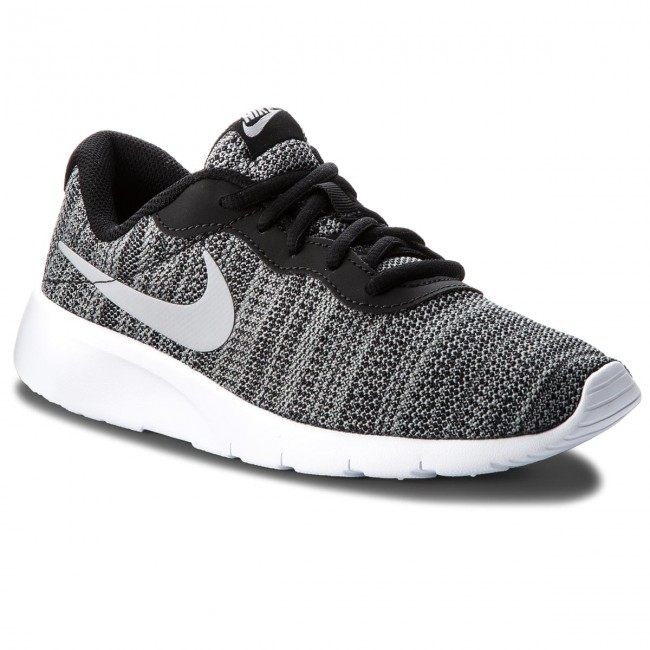 watch d7587 f74d1 Chaussures NIKE - Tanjun (GS) 818381 019 Black Wolf Grey White