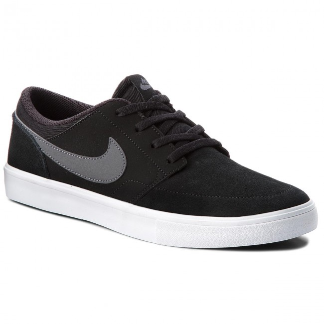 wholesale dealer 09e6a d9675 Chaussures NIKE - Sb Portmore II Solar 880266 001 Black/Dark Grey/White