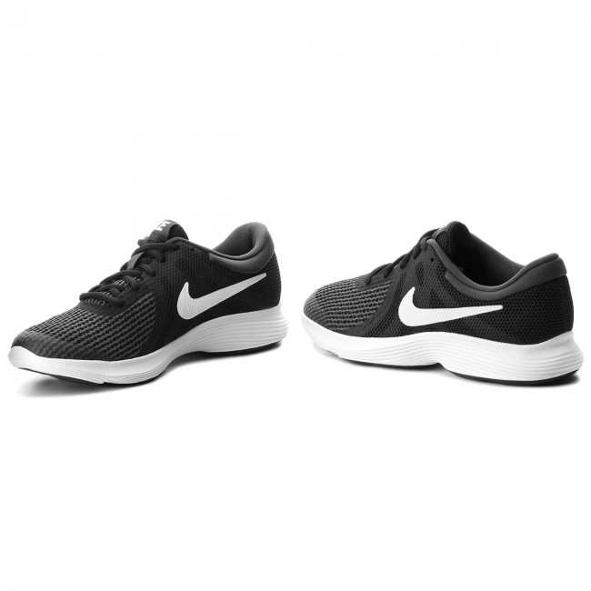 best loved 1dedf 43067 Chaussures NIKE - Revolution 4 (GS) 943309 006 Black White Anthracite