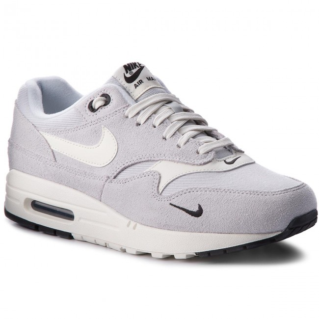 best service 07025 719e7 Chaussures NIKE - Air Max 1 Premium 875844 006 Pure Platinum Sail Black