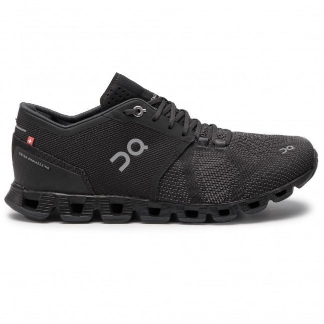 On Cloud X 000020 4005 asphalt Chaussures Black PukXZi