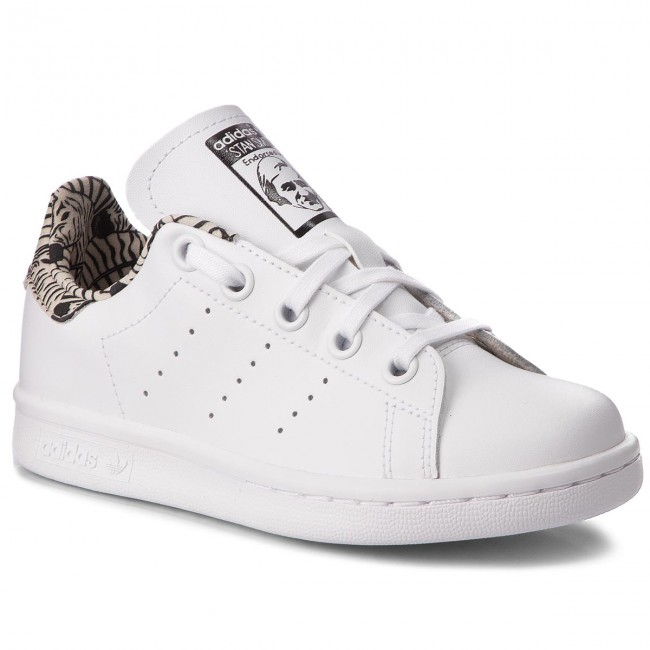 new concept 42904 9f88c Chaussures adidas - Stan Smith C BC0277 Ftwwht Ftwwht Cblack