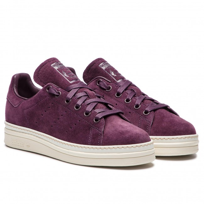 low priced f3991 fc648 Chaussures adidas - Stan Smith New Bold W B37301 Nobred Nobred Owhite -  Sneakers - Chaussures basses - Femme - www.chaussures.fr