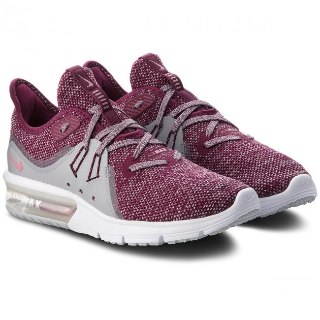 Chaussures NIKE Air Max Sequent 3 908993 606 BordeauxElemental Pink