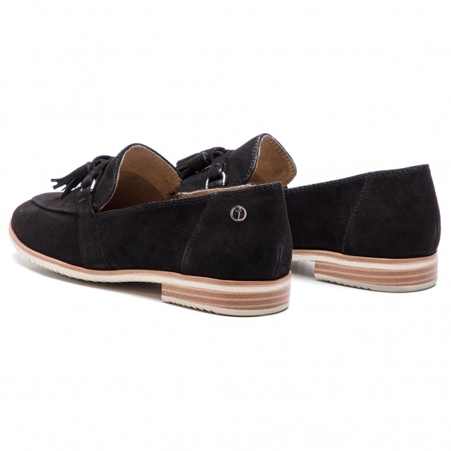 Basses Tamaris 004 Loafers Suede 1 Spring Femme 2019 22 Chaussures Black 24204 summer pVLzMGqUS