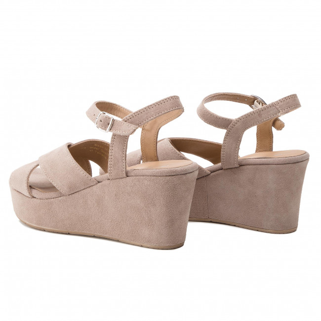Sandales 28333 Compensees 1 Tamaris Femme Taupe Spring Et 341 22 Mules 2019 summer mN80ynwPvO