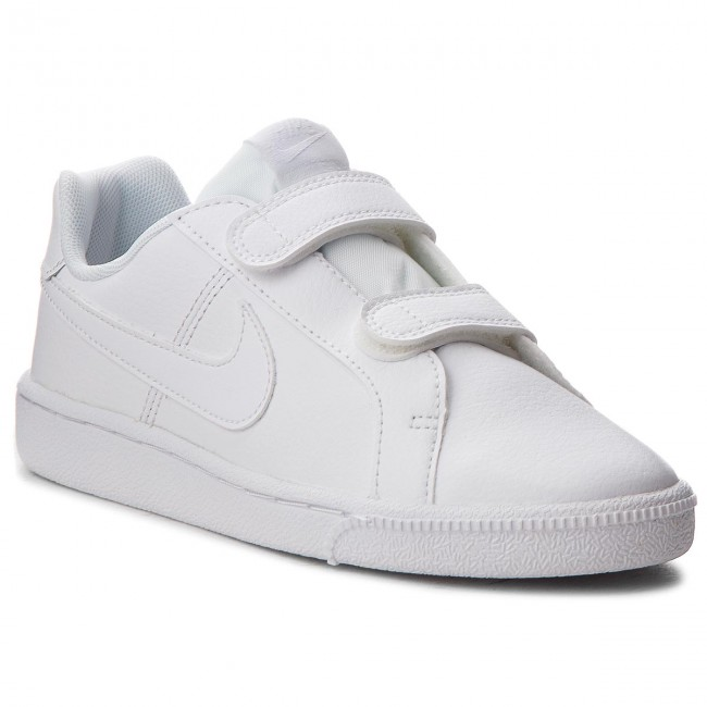 new product 7c7a7 b9276 Chaussures NIKE - Court Royale (PSV) 833536 102 White White