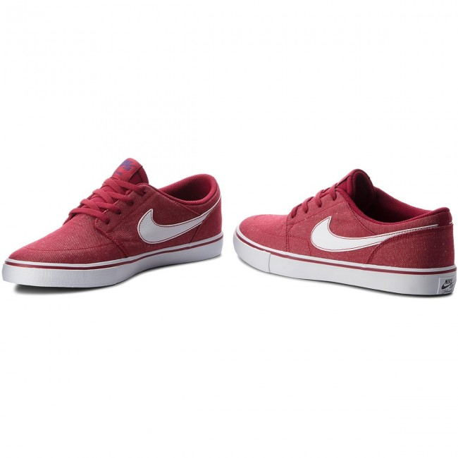 Chaussures NIKE - Sb II Portmore II Sb Slr Cvs P 880269 600 Red Crush/White/White - Baskets - Chaussures basses - Homme 426aa5
