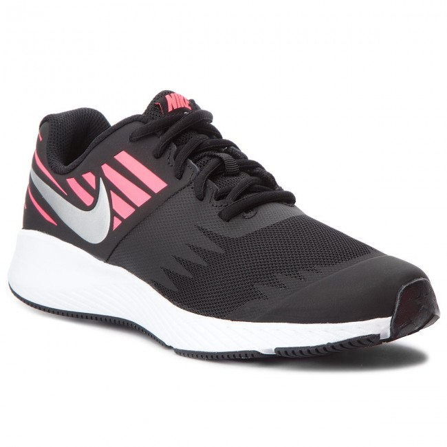 the latest 747d9 2a3c9 Chaussures NIKE - Star Runner (GS) 907257 004 Black/Metallic Silver ...