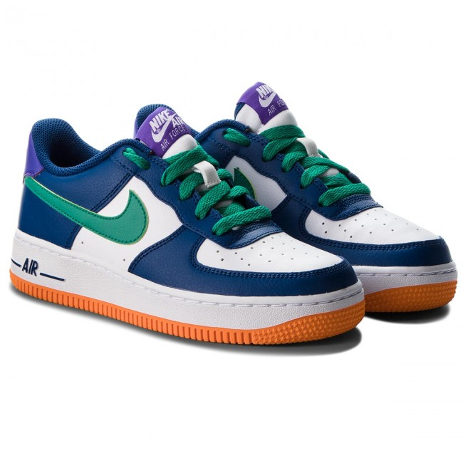 Blueneptune Nike Chaussures 1gs596728 407 Air Greenwhite Force Gym uJclF5T3K1