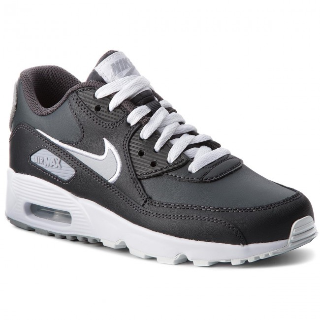 Chaussures NIKE - Air Max 90 Ltr (GS) 833412 021 Anthracite/Wolf Grey