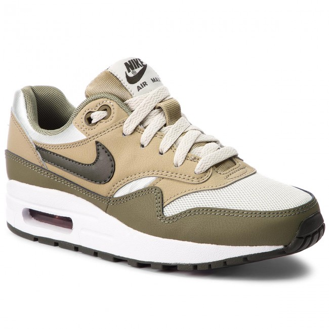 low priced 0c775 418b3 Chaussures NIKE - Air Max 1 (GS) 807602 200 Medium Olive Sequoia