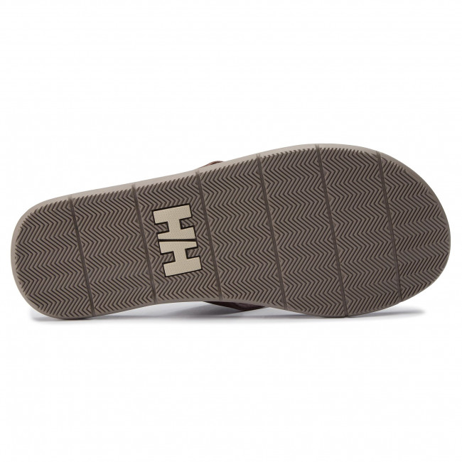 11495 Tongs Rock Leather 713 Hansen fallen Seasand Espresso castle Wall Sandal Helly tdChQrs
