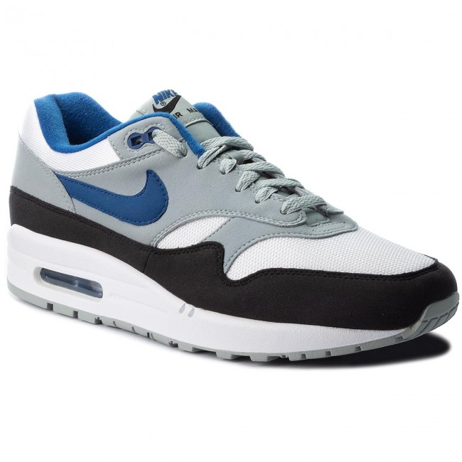 fade57899df Chaussures NIKE - Air Max 1 AH8145 102 White Gym Blue Light Pumice ...