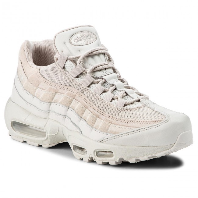 Chaussures NIKE Air Max 95 Prm 538416 011 Light BoneLight BoneString