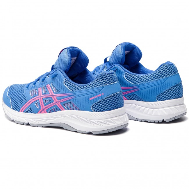 Contend Chaussures 5 402 Asics Gs hot 1014a049 Blue Coast Pink H29IYebWED