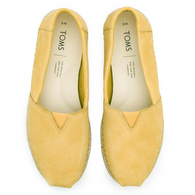 2019 Chaussures Electric Yellow Classic Femme 10013514 Basses Spring summer Toms Espadrilles 3RjLq5A4