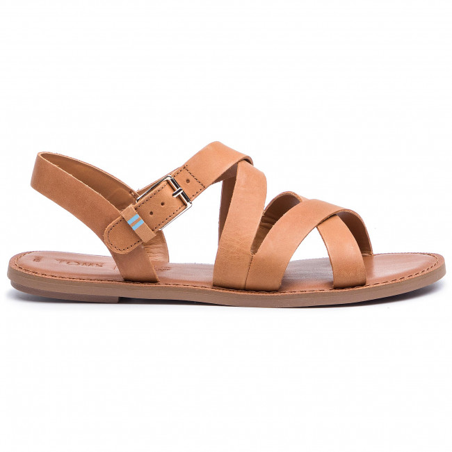 Spring summer Sicily Mules 10013440 2019 Leather Decontractees Sandales Toms Tan Et Femme 2eEH9IYWD