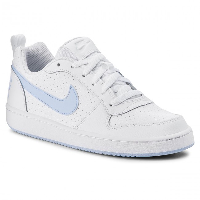 quality design 53084 67f8c Chaussures NIKE - Court Borough Low (GS) 845104 103 White Royal Tint