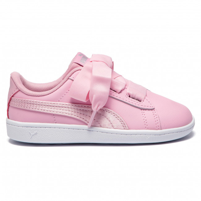 Enfant pale Pink Spring L Pale Puma Lacets 2019 369544 03 Vikky Ribbon a Sneakers Fille Chaussures summer q1 Satinlnf Basses Pink OiPXuTkZ
