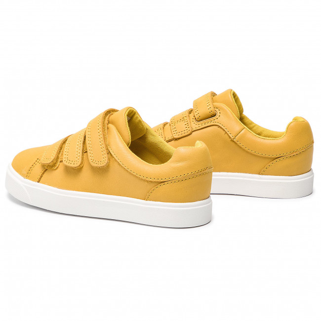 Enfant Spring Basses City Chaussures K Scratch summer 2019 Oasislo Yellow Sneakers Fille Fermeture Clarks 261414846 IDHeWEYb29