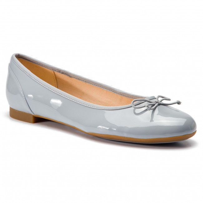 Clarks Bloom 261392924 Couture Ballerines Grey blue m0Nnv8wO