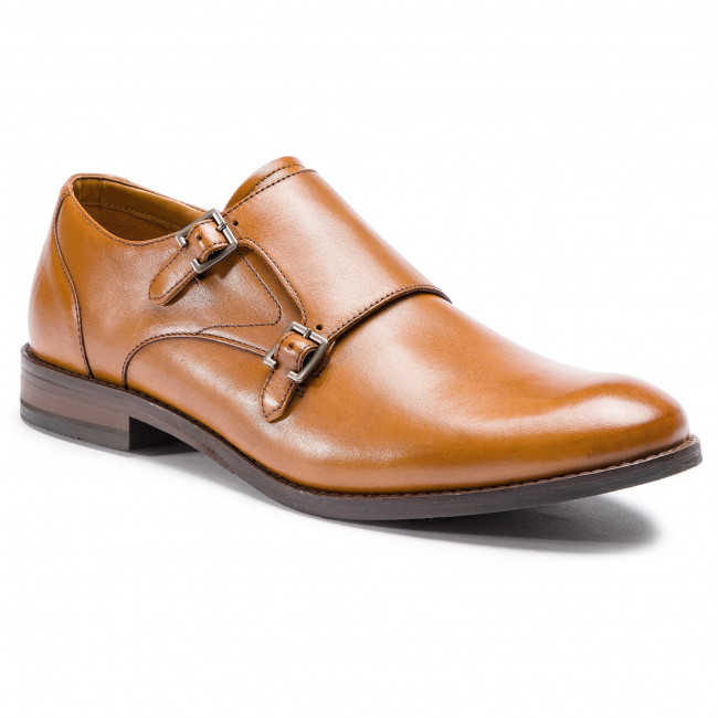 Clarks Monk Chaussures Tan 261395527 Basses Edward Leather n0mNw8