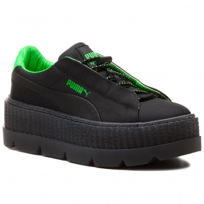 a80ec9f5f95 Sneakers PUMA - Cleated Creeper Surf Wns 367681 03 Puma Black Green  Gecko Black