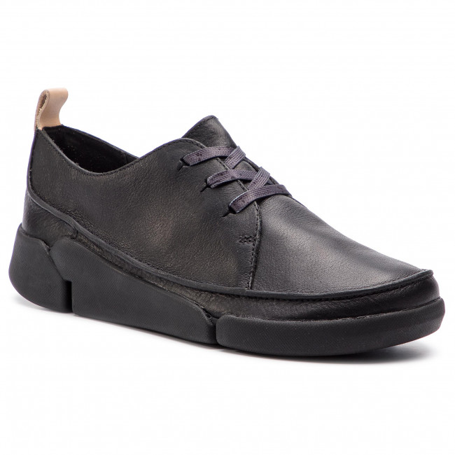 Basses Black Clarks Clara Leather Tri 261352534 Chaussures CBerdxWo