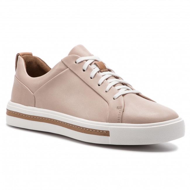 Clarks 2019 Un Sneakers Blush Femme Maui Basses Spring summer Leather 261401674 Chaussures Lace vmwOn80N