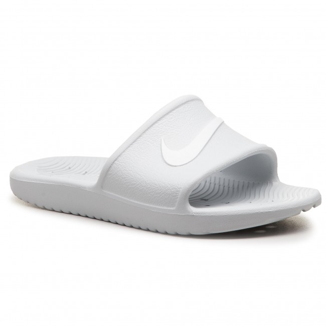 detailed pictures 5a757 2a852 Mules   sandales de bain NIKE - Kawa Shower 832655 010 Pure Platinum White