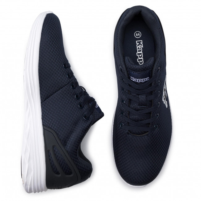 Basses Spring summer 2019 Trust Sneakers Kappa 241981 white 6710 Navy Homme Chaussures b67yYfg
