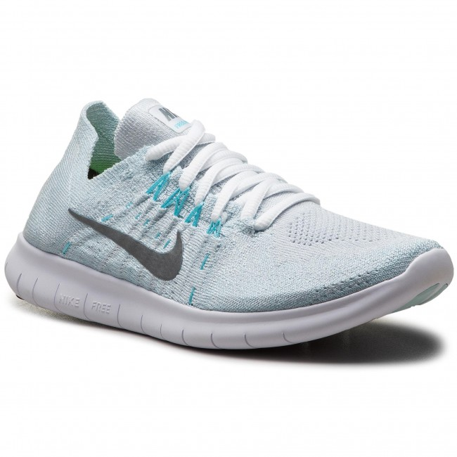buy popular 2d032 441d4 Chaussures NIKE - Free Rn Flyknit 2017 880844 012 Pure Platinum Metallic  Silver