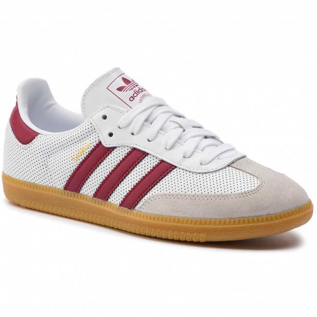 d79d3a33076ff Chaussures adidas - Samba Og BD7528 Ftwwht Cburgu Greone - Sneakers ...