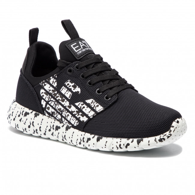 A120 Basses Sneakers Chaussures Femme Spring summer Xk073 X8x007 white Armani 2019 Emporio Black Ea7 nm80wN
