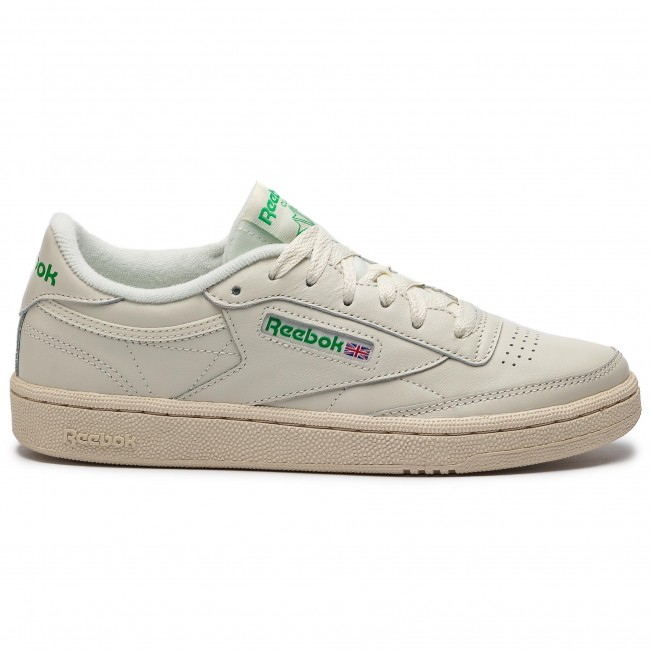 C Basses Femme Spring green red Chaussures Sneakers Chalk white Reebok summer Bs8242 2019 q1 Club 85 IWEDHY29