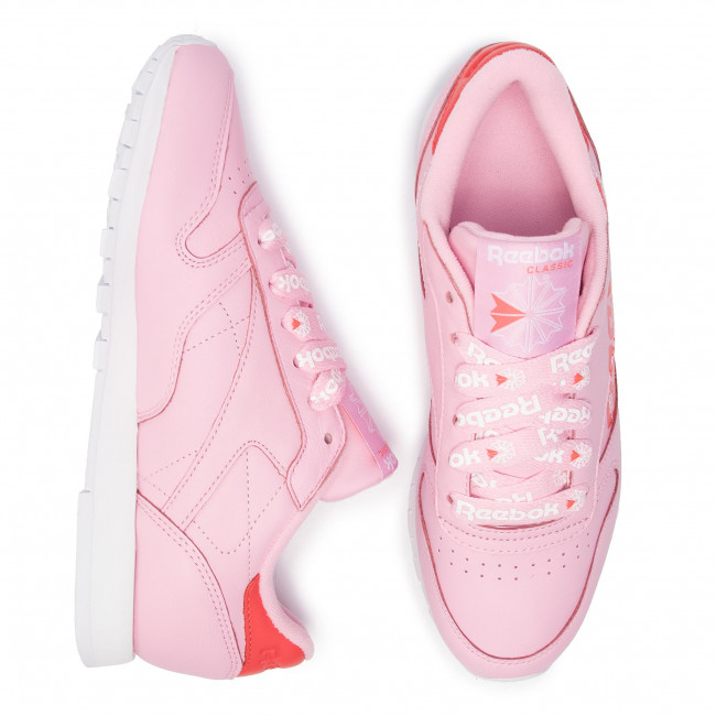 Pink Sneakers Dv3831 Basses Femme Spring Charming white Chaussures summer q1 Cl red Lthr Reebok 2019 8nNwm0
