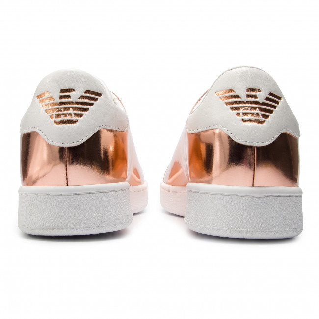 2019 With D578 summer Xl814 Copper X3x061 Femme Spring Basses Sneakers Armani Chaussures White Emporio wTkZuOiPX