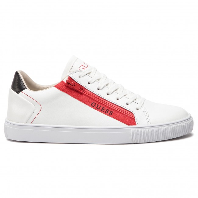 Sneakers Guess Guess Sneakers Lea12 Lea12 Whitered Fm5llo Sneakers Whitered Fm5llo kXPiOulwZT