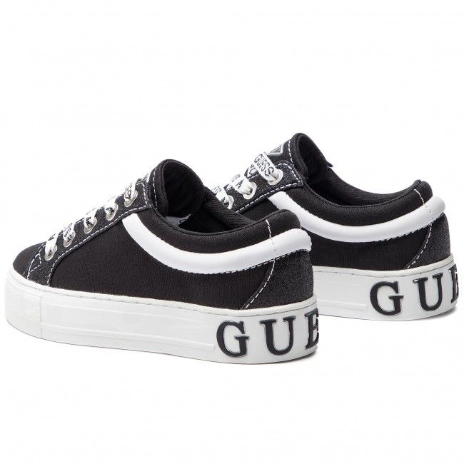 Guess 2019 Fl5ly5 Fab12 Femme Chaussures Pre Sneakers summer Basses Black Spring oWdCxrBe