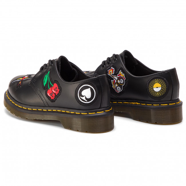 1461 Basses Spring 2019 24435001 Patch Femme Chaussures Black Plates DrMartens summer cAjL35R4q