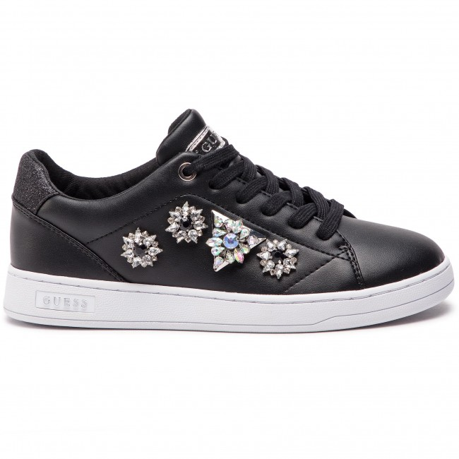 Pre summer Ele12 Basses Guess 2019 Spring Chaussures Black Femme Sneakers Fl5crl sdCQthr