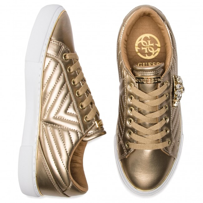 Lel12 Sneakers Gold Groovies summer 2019 Fl5grs Basses Chaussures Pre Guess Femme Spring PiuTlwXZOk