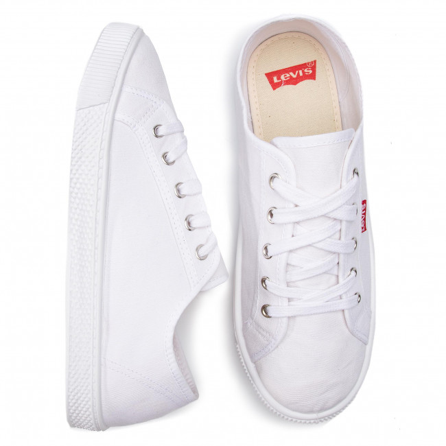 White Tennis Brilliant Homme Chaussures Basses 2019 Baskets Spring 733 50 Levi's 225832 summer RjL4A5q3